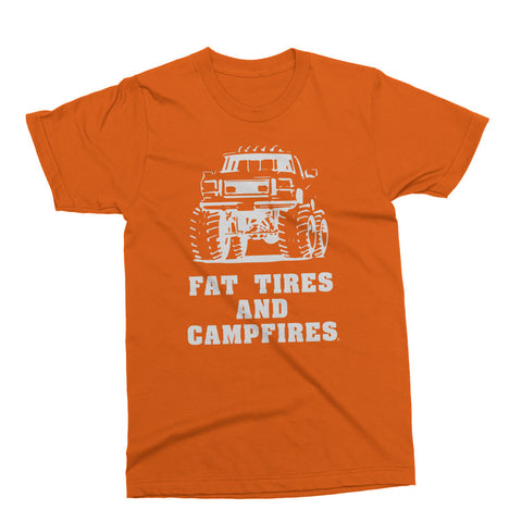 Fat Tires And Campfires Tee