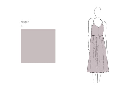 Joan Dress (Satin Triacetate) Sky 1