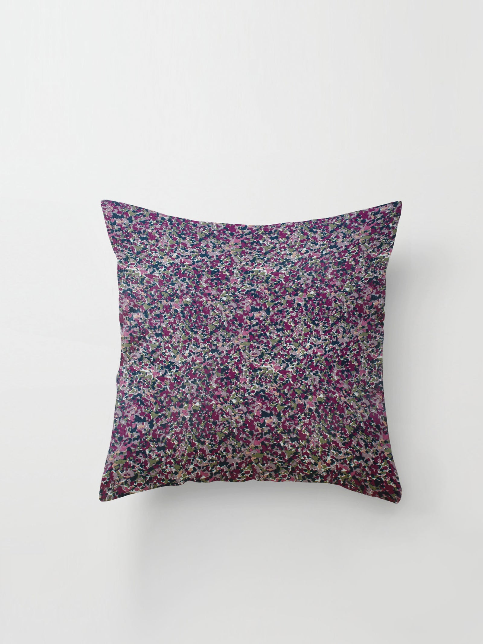Medium Cushion Cover (Floral Haze) Blackberry