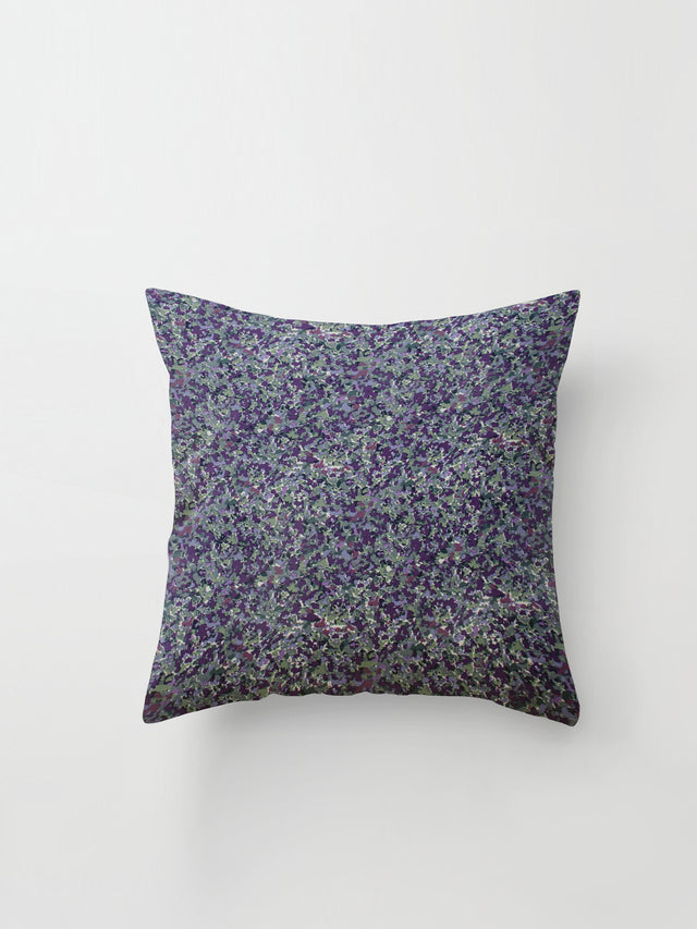 Medium Cushion Cover (Floral Haze) Sage