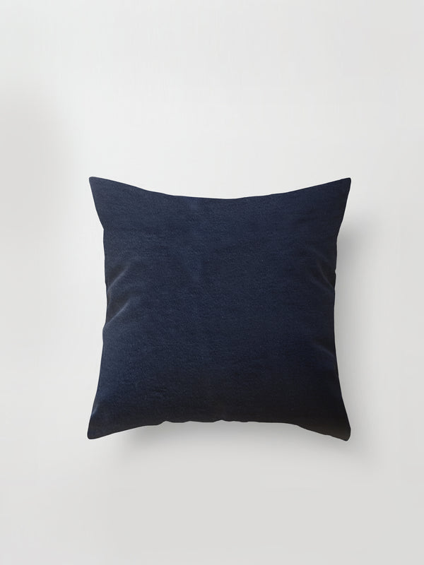 Large Cushion Cover (Luxe Fur) Black