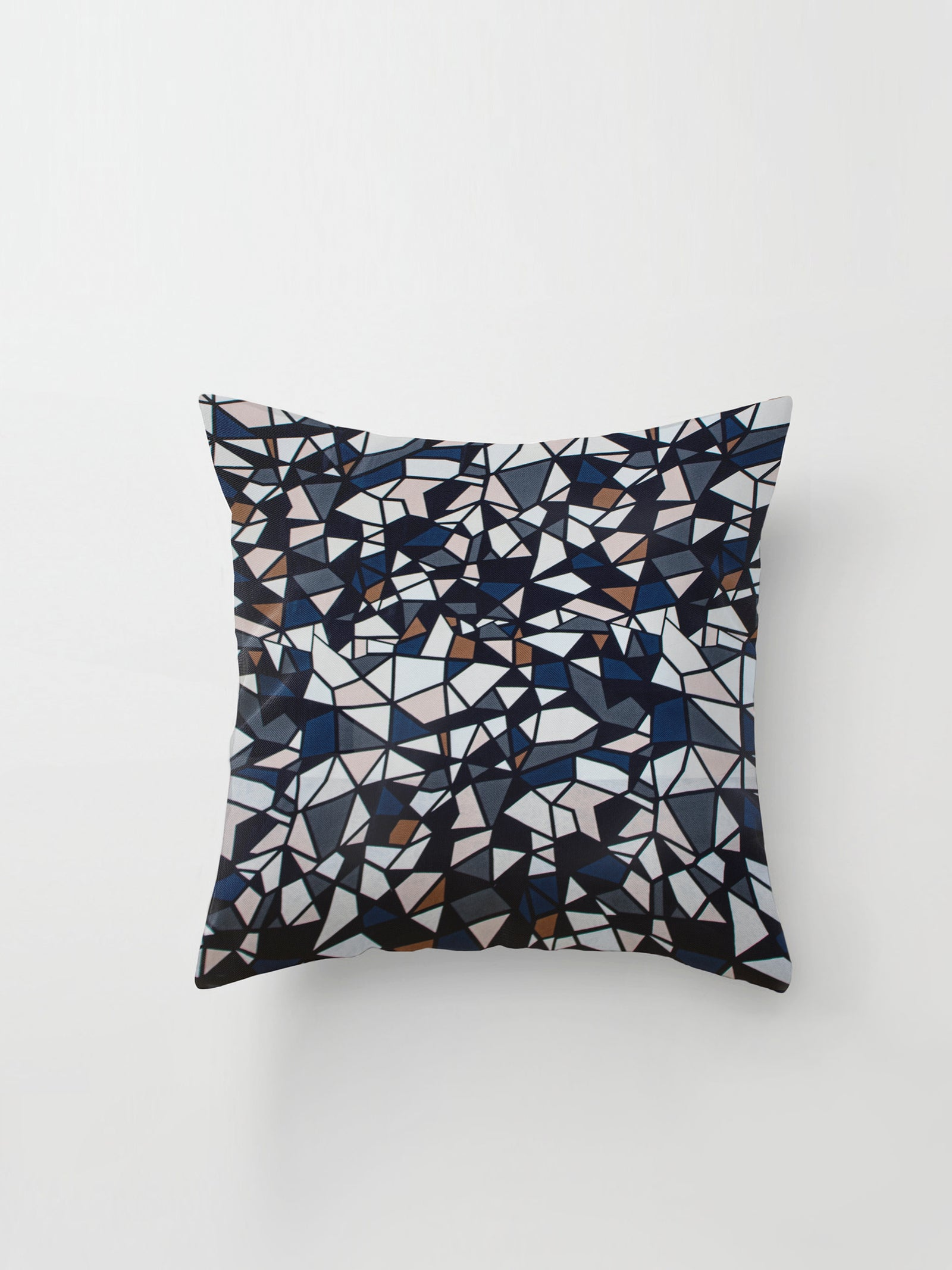 Medium Cushion Cover (New York Nights Silk) Prismatic