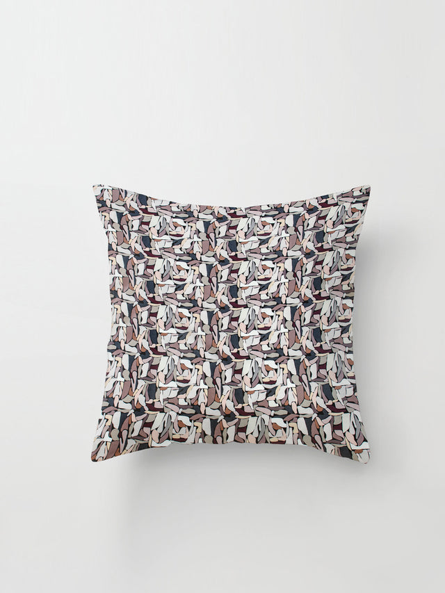 Medium Cushion Cover (Pebble Blocks) Lolly