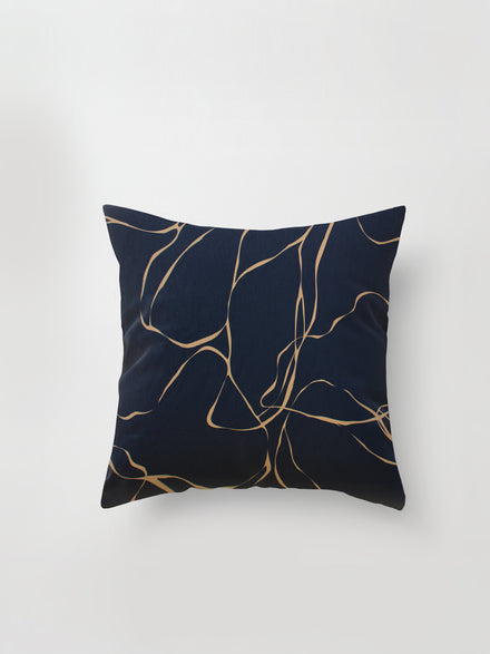 Medium Cushion Cover (Shadow Floral) Silouhette