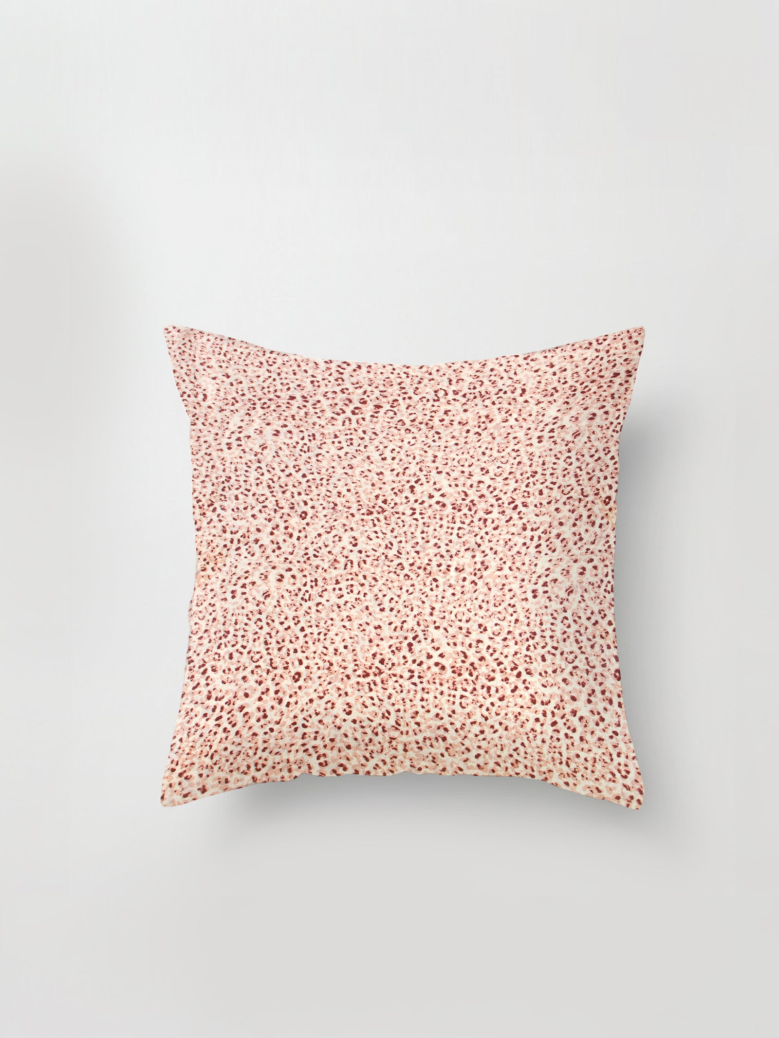 Large Cushion Cover (Serval Silk) Pinky