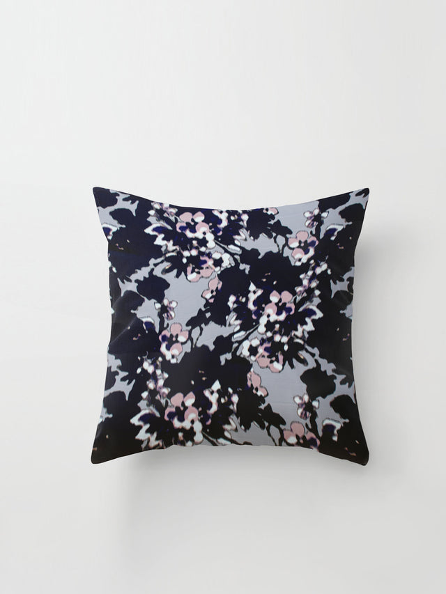 Medium Cushion Cover (Soft Focus Floral) Blur