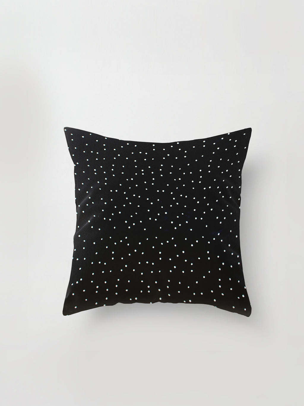 Large Cushion Cover (Spotty Viscose) Black Dot