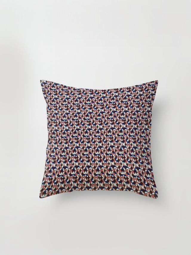 Large Cushion Cover (Tesalate Print) Jewel