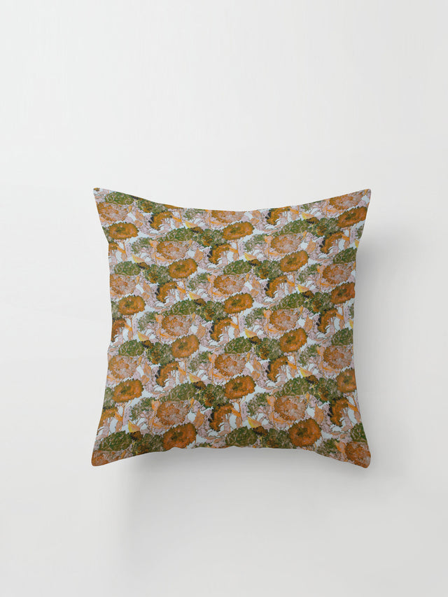 Medium Cushion Cover (Wild Meadow Cotton) Carnation Multi