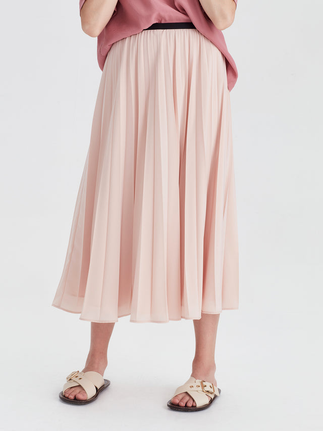 Arc Pleat Skirt (Pleat De Chine) Ballet
