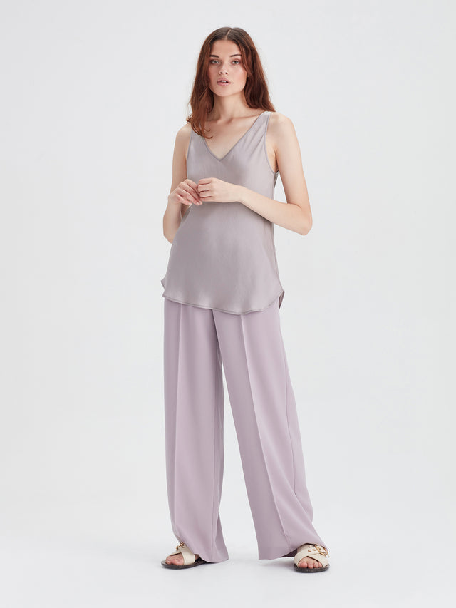 Vega Cami (Satin Triacetate) Smoke