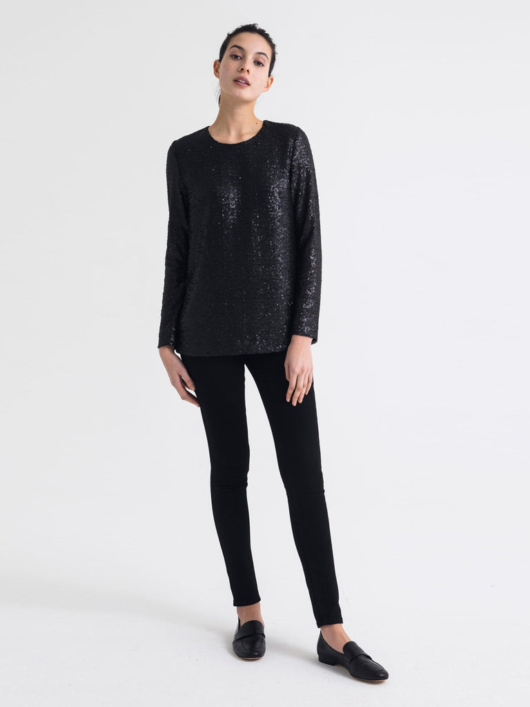marta sequin top (twilight sequin)
