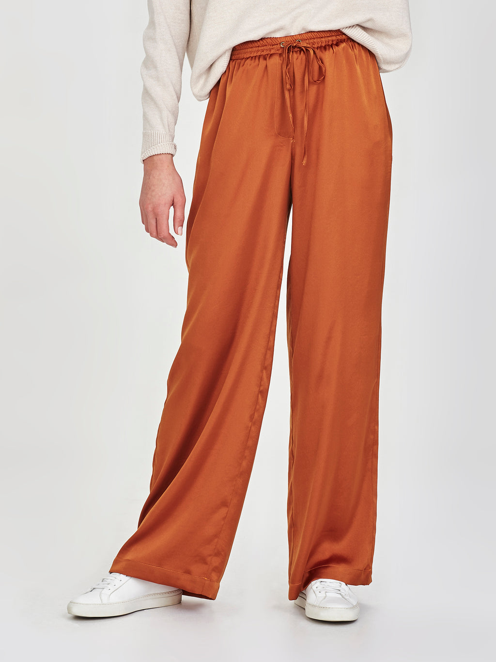 Polly Pant (Satin Triacetate) Gold