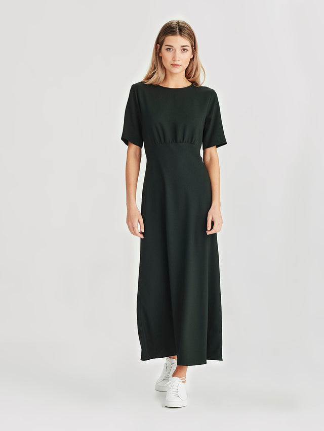 Carmela Dress (Crepe) Juniper