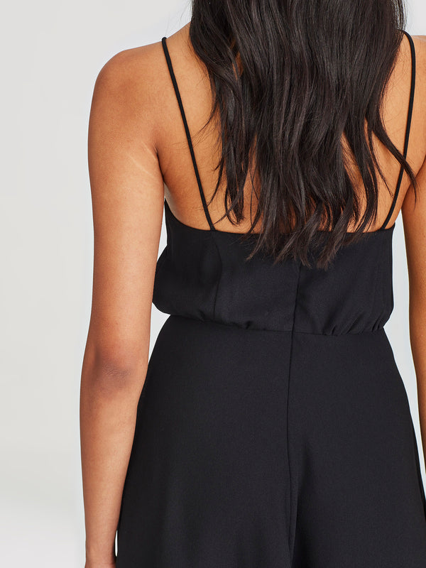 Starling Dress (Luxe Crepe) Black
