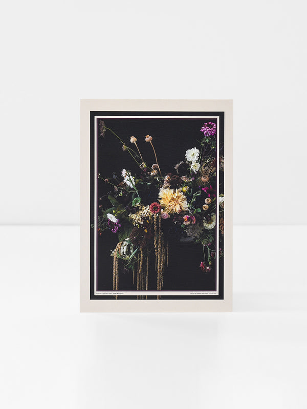 JH Puzzle (Florist Silk) Dark Bouquet