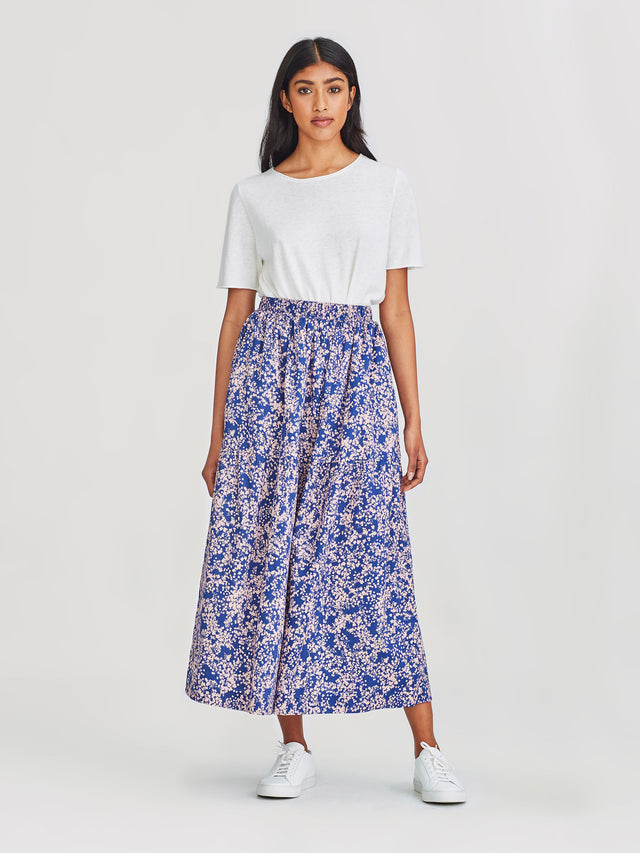 Eugenie Skirt (Gypsophila Cotton) Pop