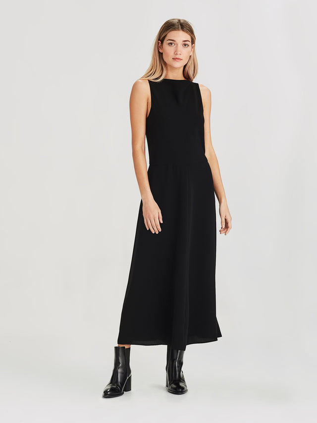 Chantelle Dress (Luxe Suiting) Black