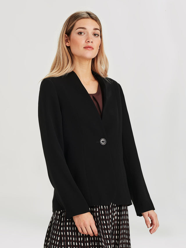 Leslie Jacket (Luxe Suiting) Black