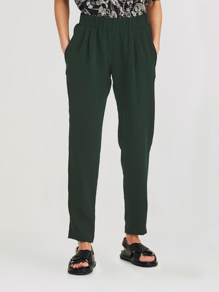 Malfoy Pant (Luxe Suiting) Forest