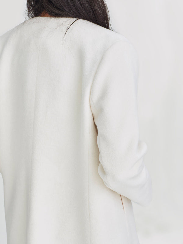 Celeste Jacket (Luxe Fur) Cream