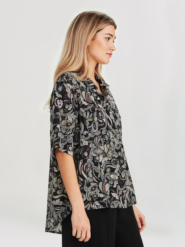 Ailsa Shirt (Paisley Silk) Winter