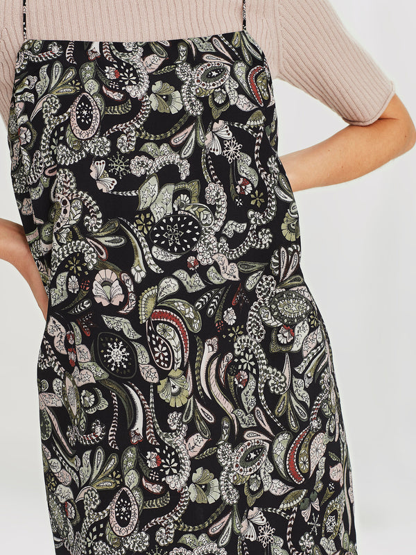 Blair Dress (Paisley Silk) Winter