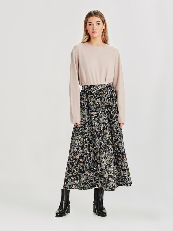 Eugenie Skirt (Paisley Silk) Winter