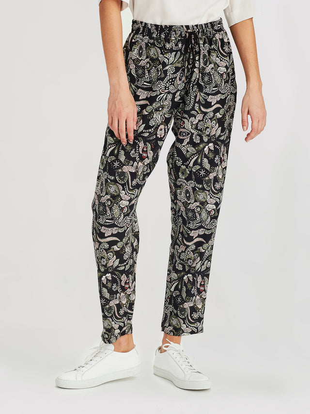 Leonard Pants (Paisley Silk) Winter