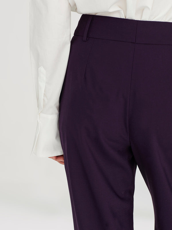 Celine Trouser (Stretch Suiting) Blackberry