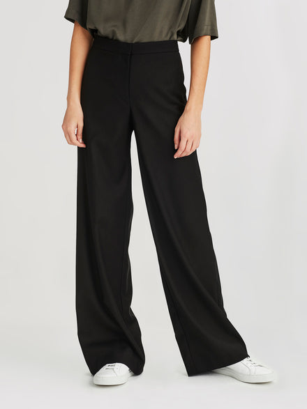 Clapham Pant (Soft Suiting ) Black