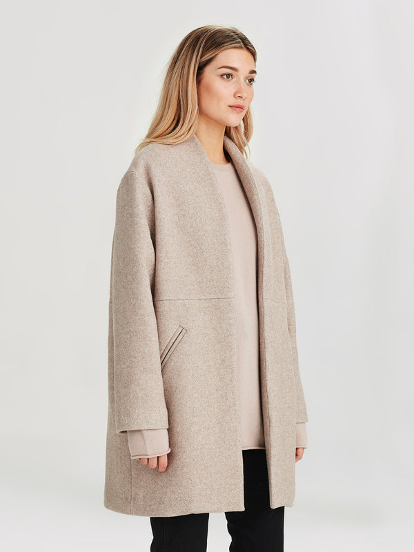Saville Coat (Twill Coating) Clay