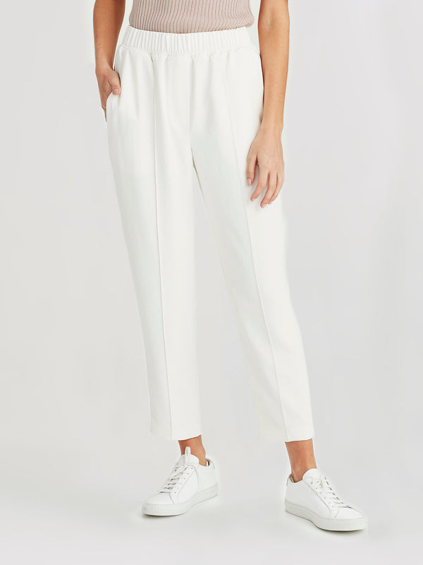 Tuck Pant (Triacetate Twill) Milk