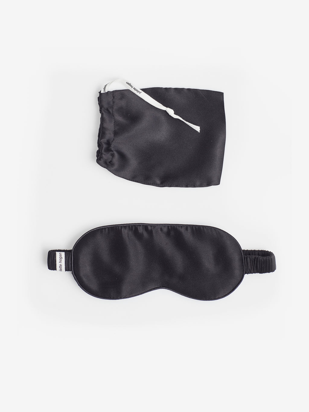 Silk Eyemask (made in China) Black