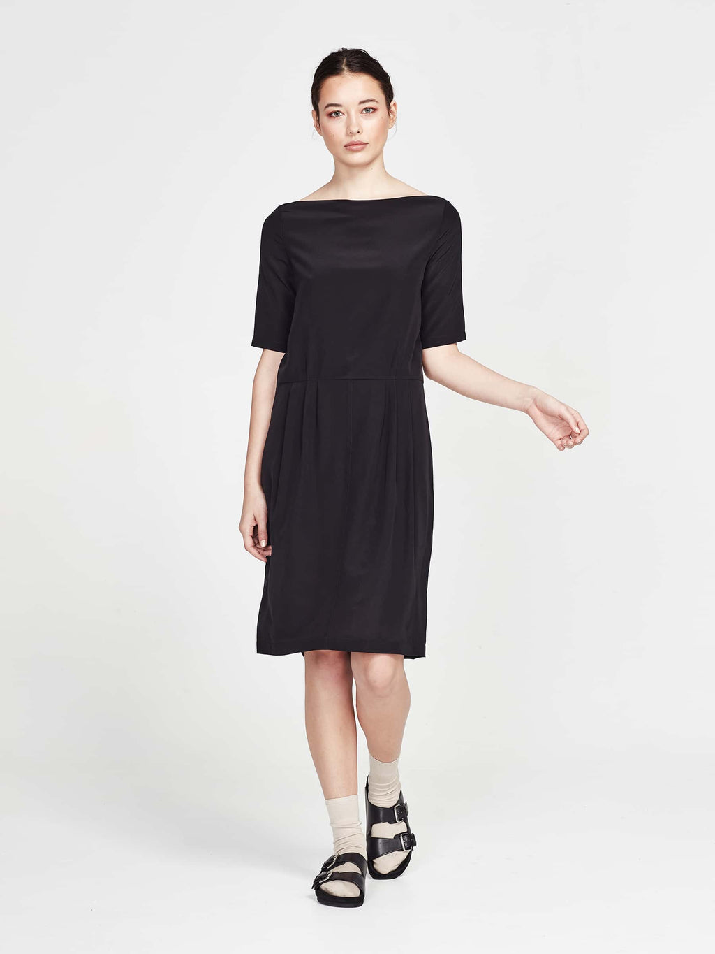 Marni Tunic (Silk Crepe De Chine) Black