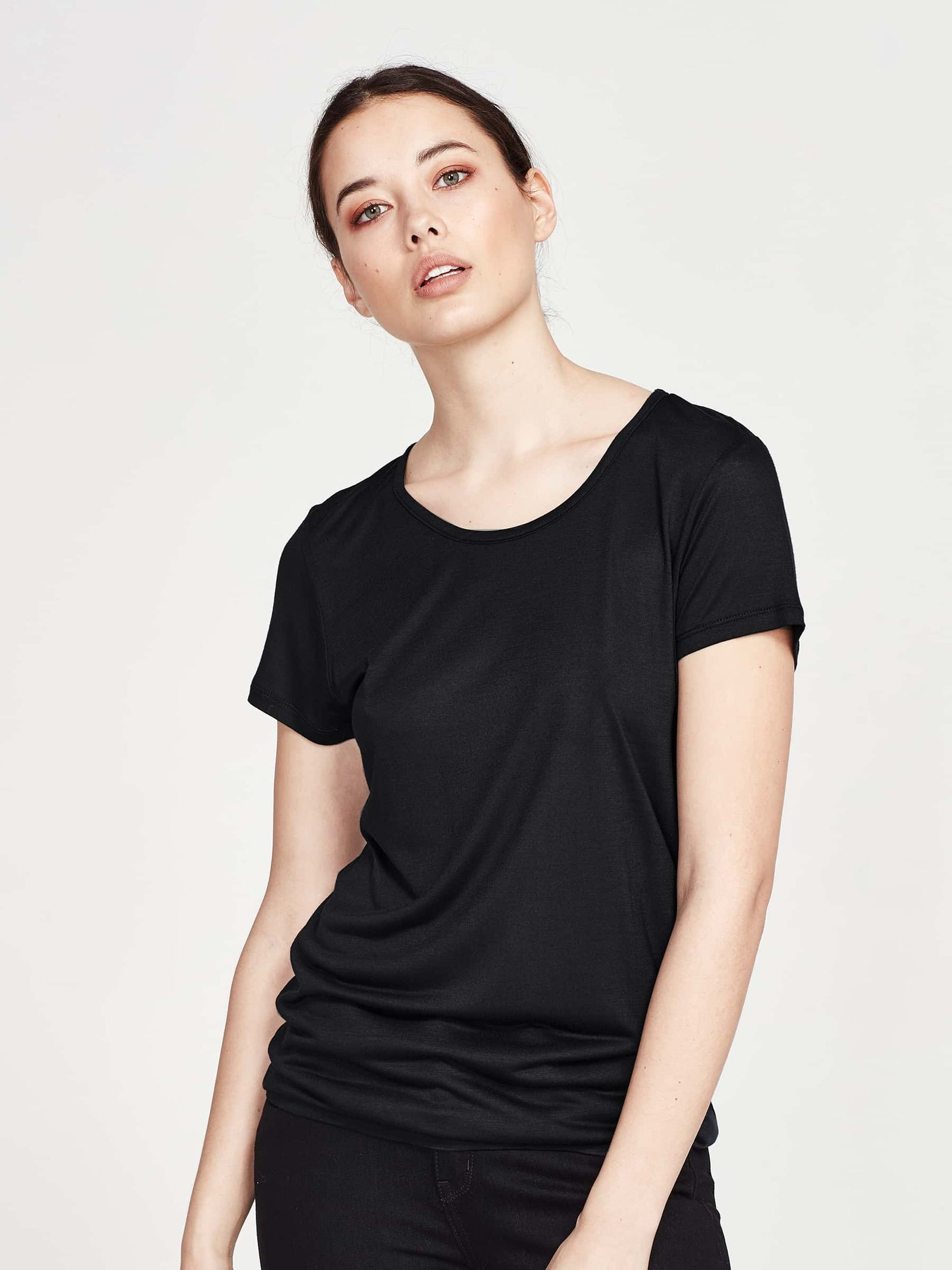 Dean T (Cotton Jersey) Black
