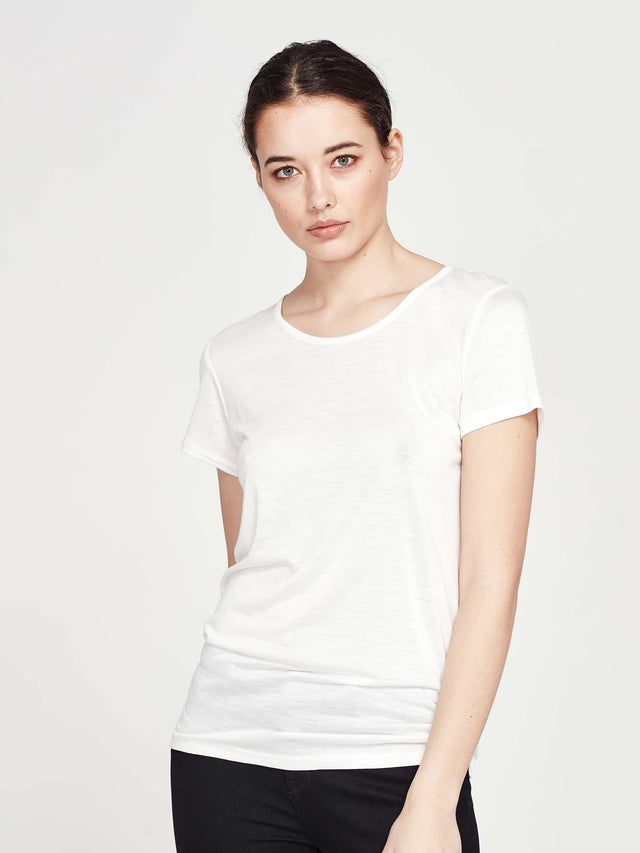 Dean T (Cotton Jersey) White