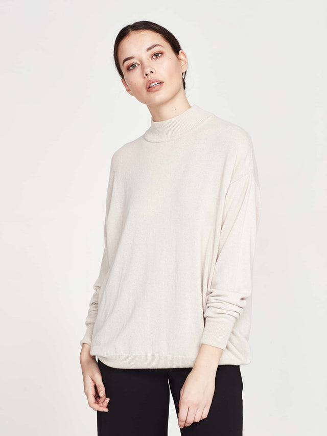 Clare Sweater (Cashmere) Biscuit
