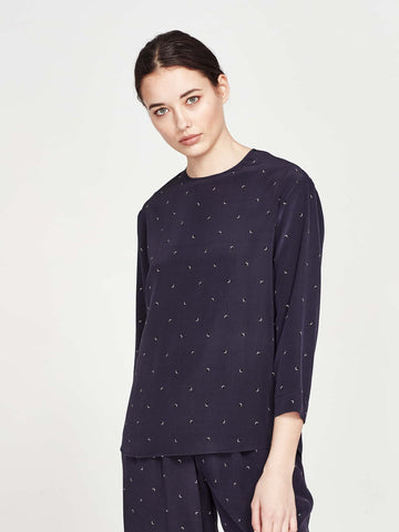Stark Blouse (Moon Dot) Eclipse