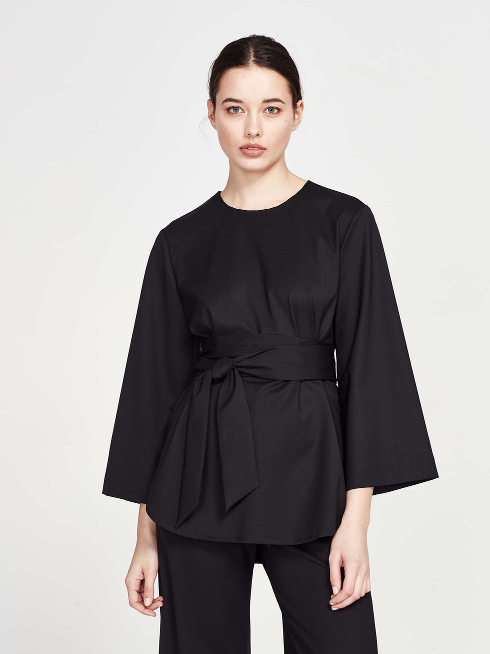 Jackie Top (Proenza Suiting) Black