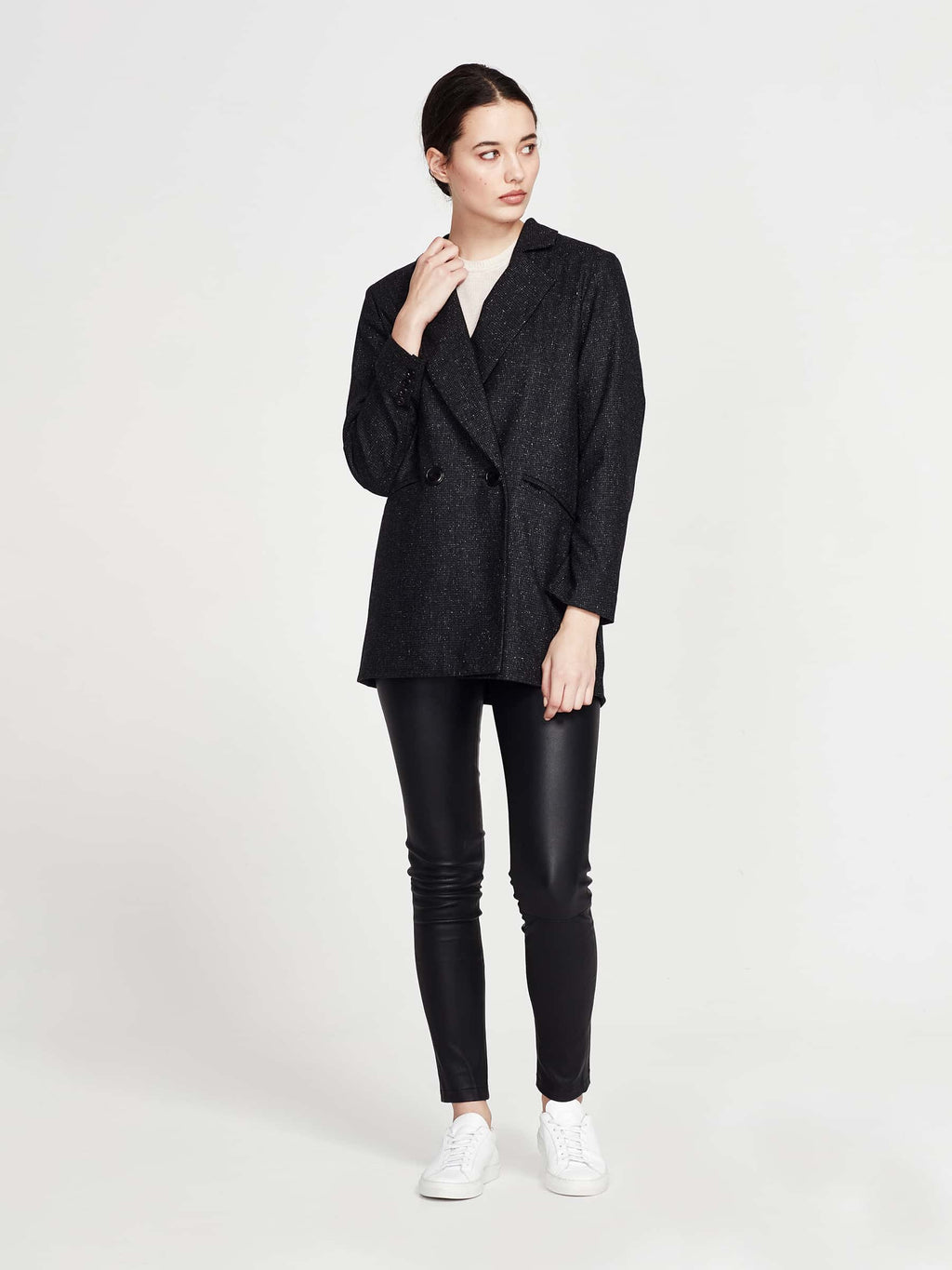 9623d6553cf Keats Jacket (Silk Tweed) Speckle – Juliette Hogan