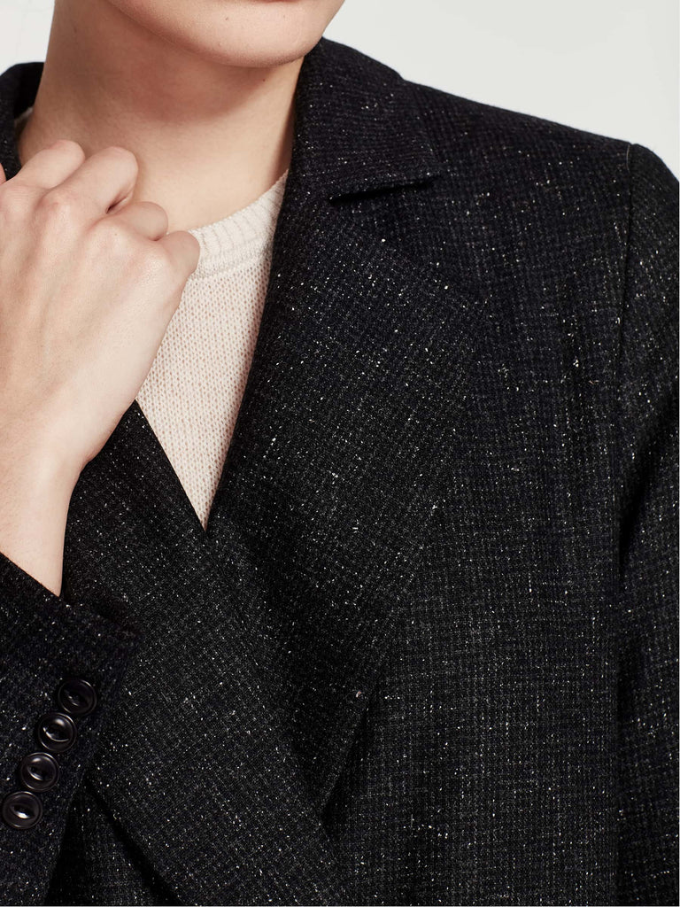 Keats Jacket (Silk Tweed) Speckle