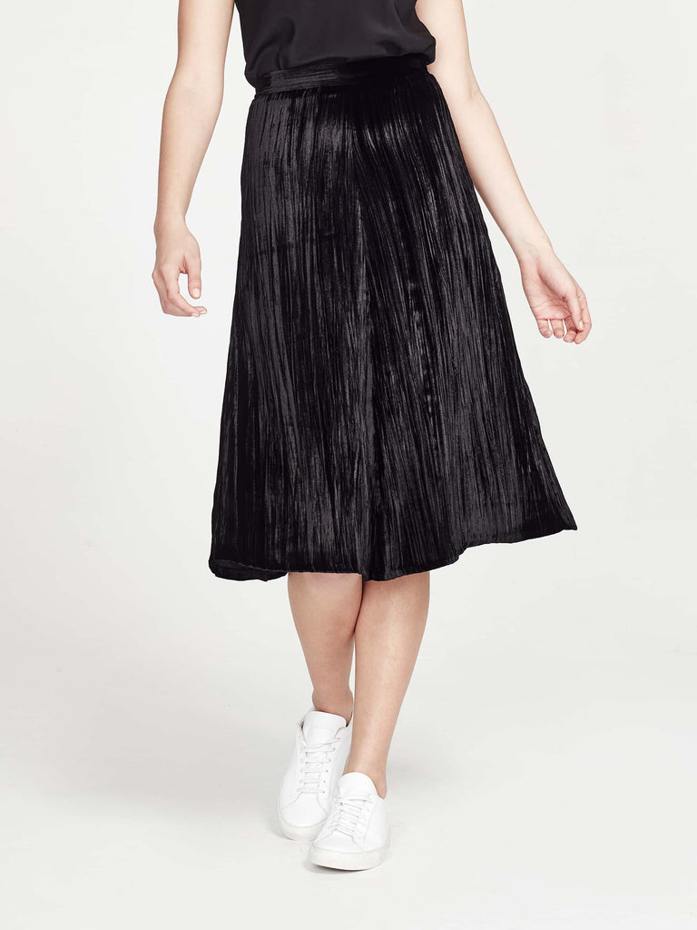 Janice Skirt (Textured Velvet) Oil