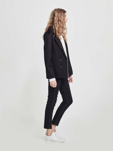 Andrew Jacket (Wool Coating) Black