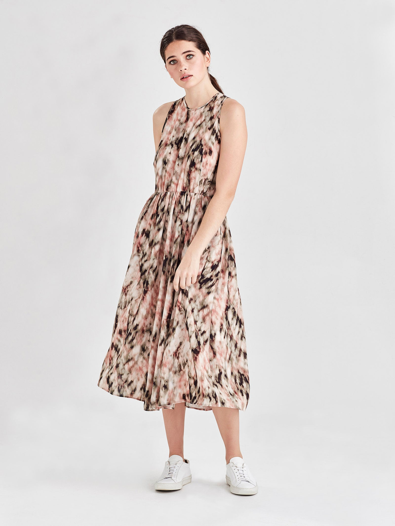 Freya Dress (Ashbury Print) Tie Dye