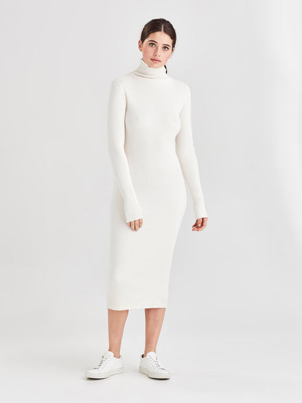 Luxe T (Cotton Cashmere) Snow