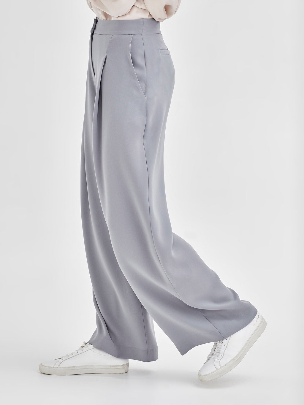 Calla Culotte (Luxe Suiting) Duck Egg