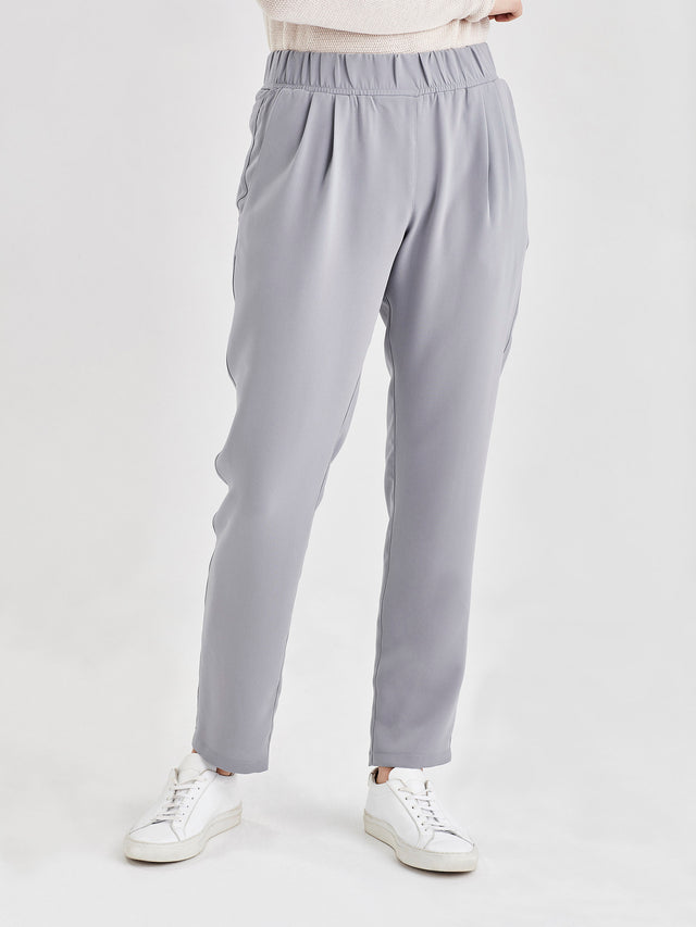 Malfoy Pant (Luxe Coloured Suiting) Duck Egg