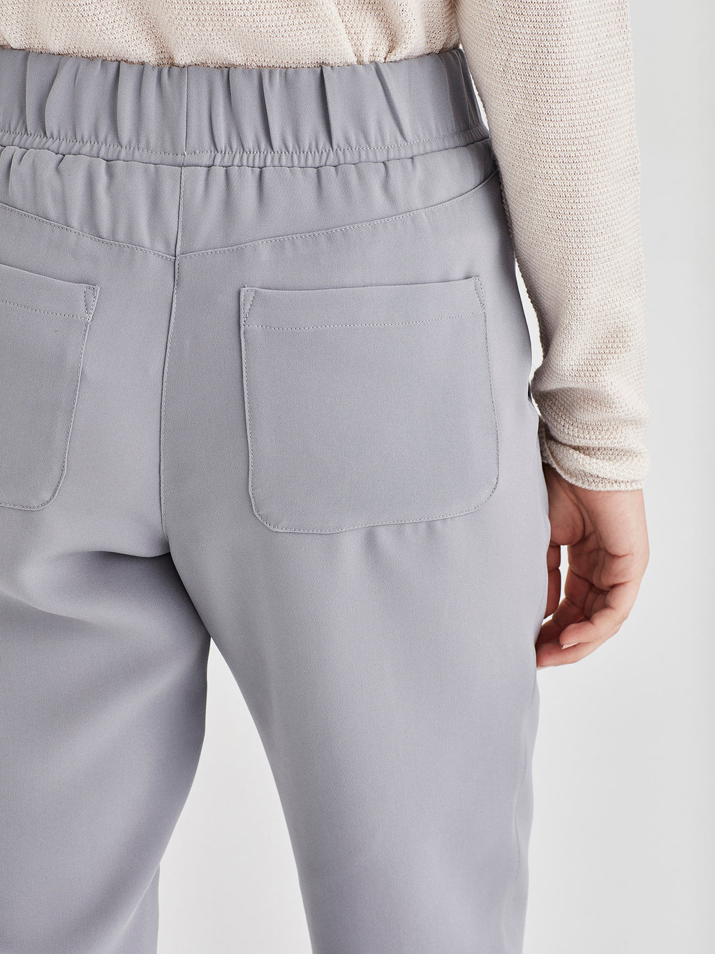 Malfoy Pant (Luxe Suiting) Duck Egg