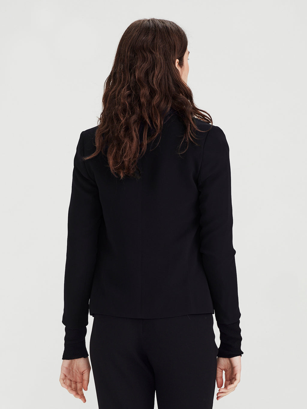 West Blazer (Luxe Suiting) Black